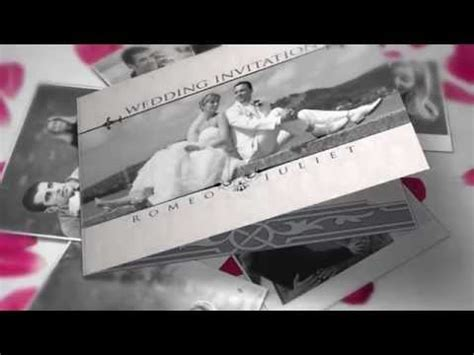 wedding invitation after effects project files videohive youtube