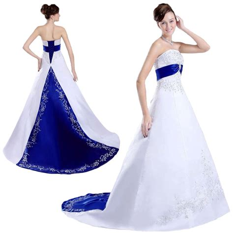 White And Royal Blue Embroidered Satin Wedding Dresses. Golden Colored Wedding Dresses. Wedding Dresses Nottingham Lace. Wedding Dresses 2016 Toronto. Indian Wedding Dresses In Ahmedabad. Wedding Dresses Princess Style With Lace. Big Bang Theory Wedding Dress Designer. Gold Asian Wedding Dresses. Simple Knee Length Wedding Dresses With Sleeves