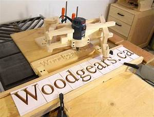making 3d letters with the pantograph With wood sign making templates