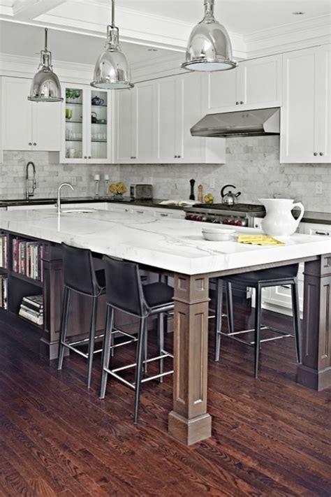 Long KItchen Island   Contemporary   kitchen   Palmerston