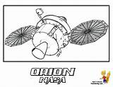 Space Coloring Orion Shuttle Print Nasa Craft Pages Usa Spacecraft Yescoloring Spectacular sketch template