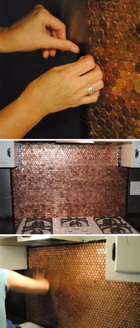 25+ Frugal And Creative Kitchen Backsplash Diy Projects