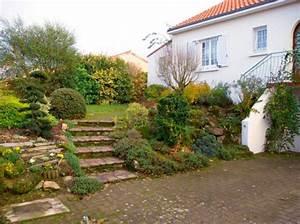 Jardin comment amenager une pente travaillee en rocaille for Amenager jardin en pente 3 amenager son jardin en pente conseils pratiques et