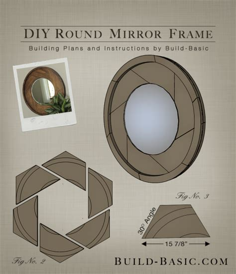 build  diy  mirror frame building plans