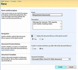 Create a document library in sharepoint sharepoint for Document library name sharepoint