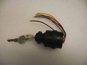 mercury outboard replacement ignition switch push