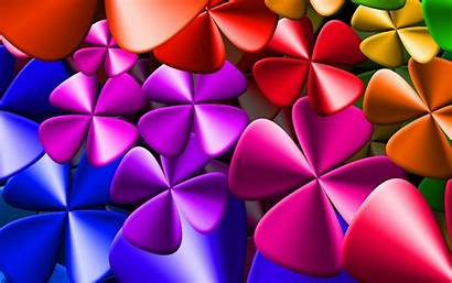Wallpapers Colorful Cool Backgrounds Flower Rainbow Puzzle