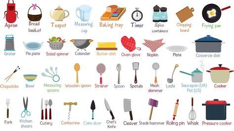kitchen tools  list  essential kitchen utensils