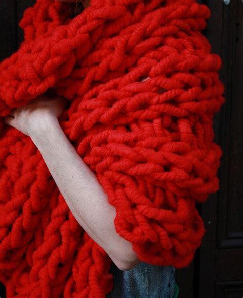 Schwere Decke Selber Machen by Die Besten 25 Grobstrick Decken Ideen Auf