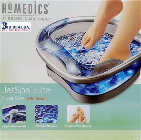 Homedics FB200 Jet Spa Elite Foot Spa w/ Heat New