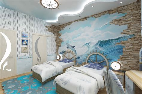 Pirate Ship Interior Design For 6 Year Boy by The Element Of Water Boys Rooms Interior Room