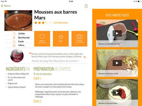 750 grammes cuisine 750 grammes 77 000 recettes de cuisine dans l app store