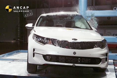 Kia Car Ratings by News Ancap Kia Optima 5 Safety Rating