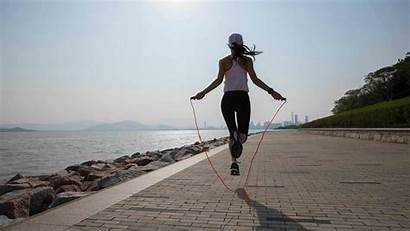 Rope Jump Jumping Benefits Fat Exercise Belly