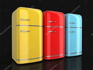 Retro Kühlschrank A : 3d bild des retro k hlschrank stockfoto panama555 89600358 ~ Orissabook.com Haus und Dekorationen