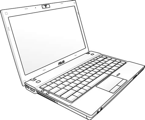 drawn notebook laptop computer pencil   color drawn