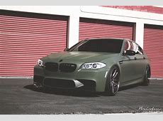 Military Grade Performance Army Green BMW M5 autoevolution