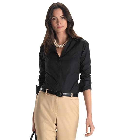 fitted blouses 39 s non iron fitted blouse brothers