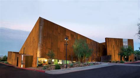 Azarchitecture Architecture In Scottsdale by Scottsdale S Arabian Library Wins Smart Environment Award