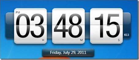 horloge bureau windows horloge numérique gratuite