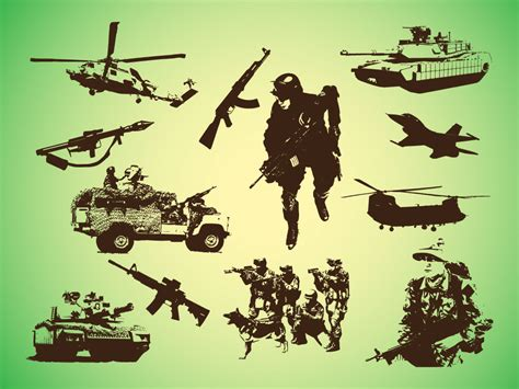 It lets you select each component of the svg file, one at a time, to let you apply edits. Military Graphics Clipart - Clipart Suggest