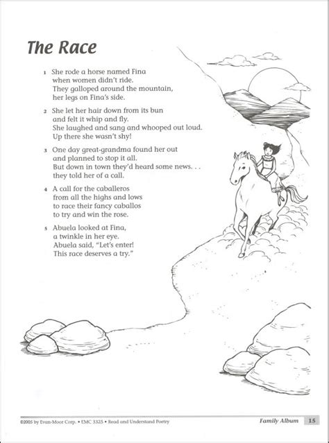 poetry passages 3rd grade read understand poetry gr 4 5
