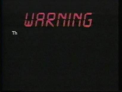 Vhs Warning Retro Copyright Vcr 90s Gifs