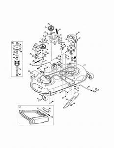 Craftsman Lt2000 Lawn Mower Parts Diagram