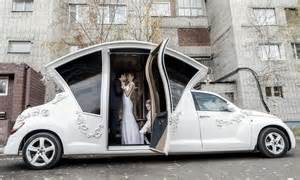 wedding limo chrysler pt cruiser limousine for weddings in russia extravaganzi