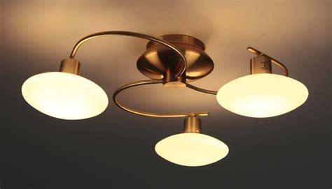 luminaire plafond chambre plafonnier à 3 branches le suspension lustre luminaire