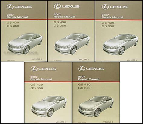manual repair free 2010 lexus is f security system 2006 2011 lexus gs 300 350 and 430 460 body repair shop manual original