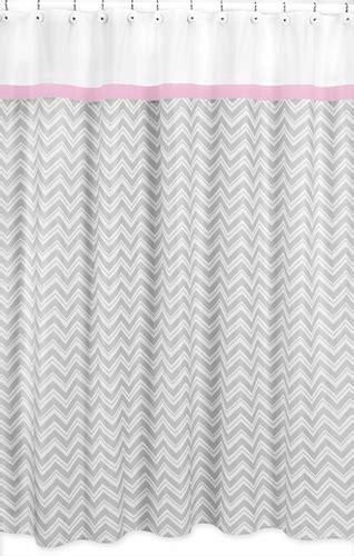 sweet jojo chevron curtains pink and gray chevron zig zag bathroom fabric bath