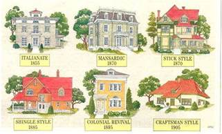 home design eras architectural styles a photo guide to residential building styles and ages