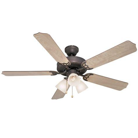 rubbed bronze ceiling fan light kit oil rubbed bronze 52 quot ceiling fan w light kit 5943