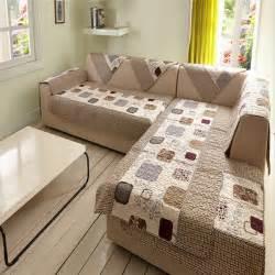 sunnyrain 1 piece sectional sofa towel polyester sofa