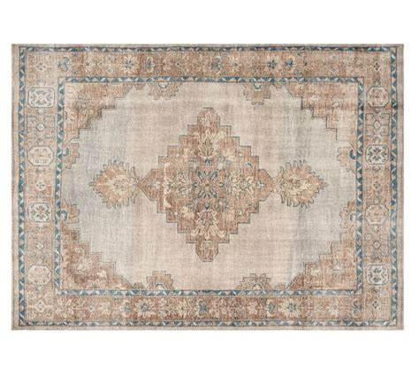 pottery barn rugs reviews pottery finn hand knotted rug blue multi pottery barn
