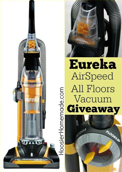 Eureka Airspeed All Floors Upright Vacuum As3012a by Eureka Airspeed All Floors Vacuum Giveaway Hoosier