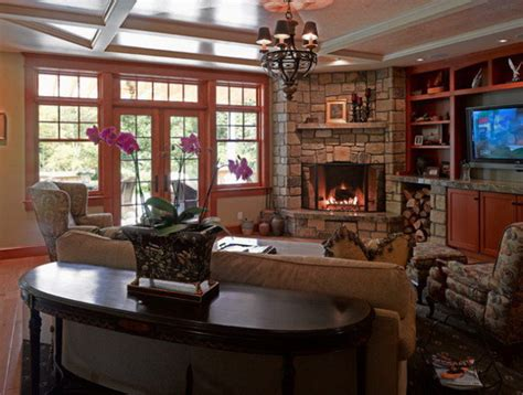 Living Room Ideas Corner Fireplace by Cozy Living Rooms With Corner Fireplace Concept Ideas Abpho