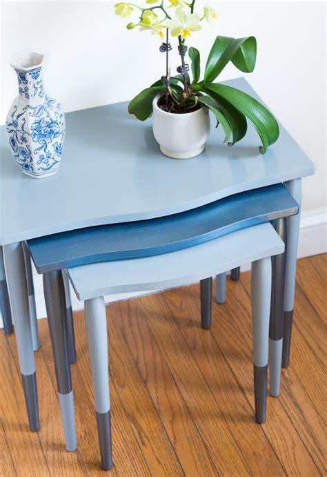 DecoArt Blog   DIY   Yard Sale Furniture Makeovers