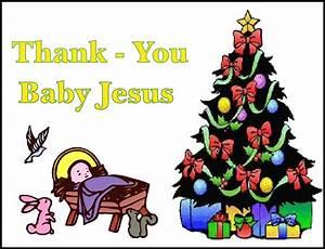 Christmas Rubies In My Treasure Box: Thank-You Baby Jesus