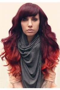Ombré Hair Auburn : 167 best images about red orange ombre hair on pinterest her hair black and red ombre and my hair ~ Dode.kayakingforconservation.com Idées de Décoration