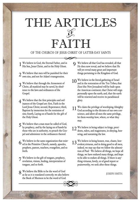 The Articles of Faith #howtoreadtarotcards   Articles of ...