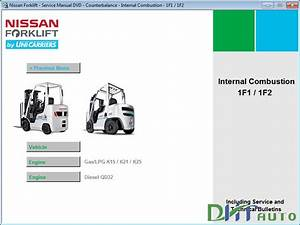 Free Auto Repair Manuals  Nissan Forklift Service Manual 2013