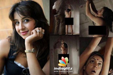 sanjana half nude viral actress is worried kannada movie news