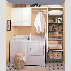 Custom Laundry Room Storage  More Space Place Jacksonville