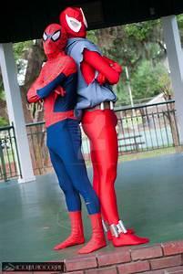 Scarlet Spiderman Cosplay | www.imgkid.com - The Image Kid ...
