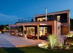 facades nord et est plan maison terrain en pente With wonderful plan de maison en 3d 6 maisons cate atlantique constructeur