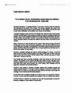 arranged marriage essay paper