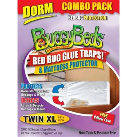 bed bug mattress cover home depot buggybeds bed bug mattress and detector combo xl 4