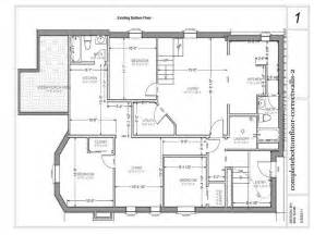house floor plans with basement house plans and design modern house plans with basement